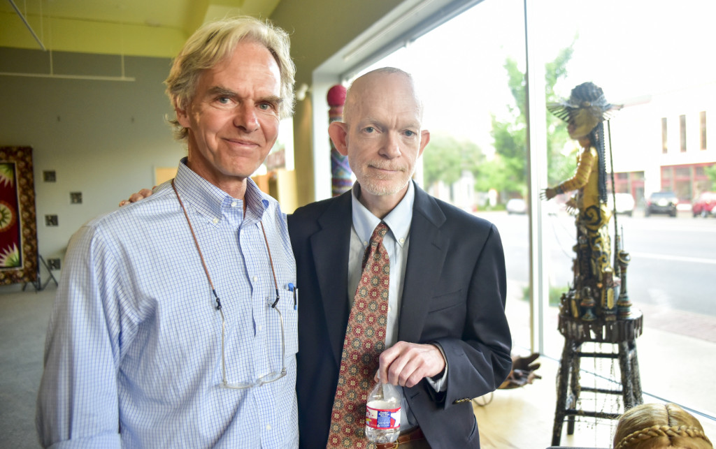 Mark Landis and Birney (1 of 1)